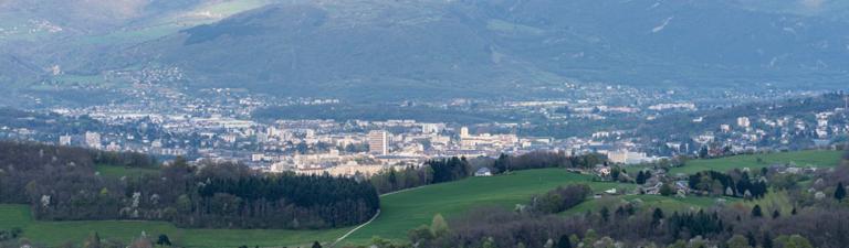 Paysage Chambéry 1